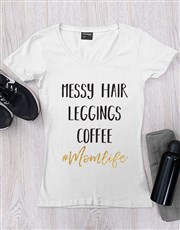 Personalised Mom Life Shirt