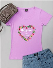 Personalised Napping For Two Shirt