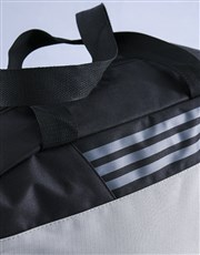 Keep up the team effort with a grey-striped sports