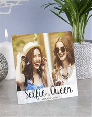 Spoil the ultimate selfie queen with a glass tile