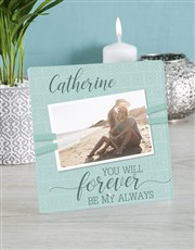 Celebrate your forever person with a glass tile wi