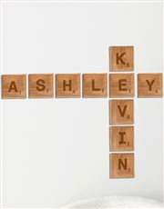 Scrabble fans will just love this one! Spell out t