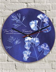 Personalised Strong Roots Clock