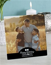 Make that birthday truly special with a glass tile