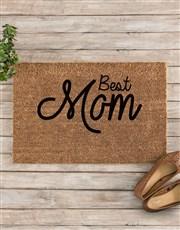 Personalised Best Mom Doormat
