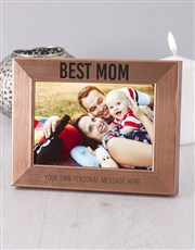 Personalised Best Mom Photo Frame