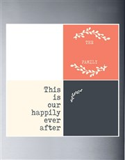 Personalised Happily Ever After Magnets