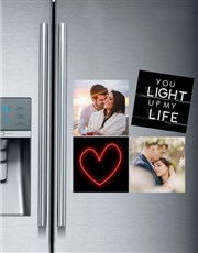 Personalised Light Up My Life Magnets