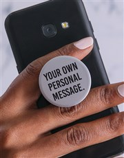 Personalised Message Popsocket