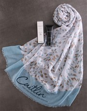 Personalised Serene Scarf Gift
