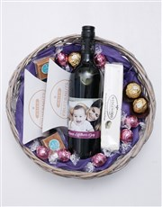 Personalised Photo Mothers Day Basket