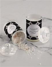 Personalised Circle Candle Jar