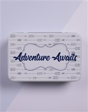 Adventure awaits the new bundle of joy with a whit