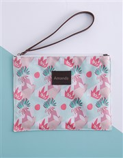 Personalised Abstract Pattern Clutch