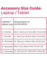 Personalised Protea Laptop Organiser