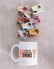 Personalised Powered By The Holy Spirit Mug