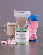Personalised Get Well Hot Chocolate Tin