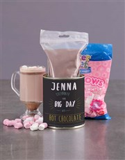 Personalised Birthday Hot Chocolate Tin