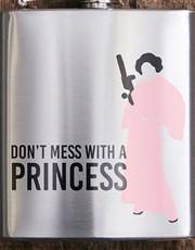Personalised Princess Hip Flask