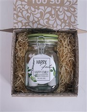 Personalised Foot Theraphy Jar