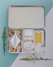 Personalised Spring Bath Keepsake Box