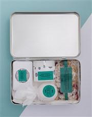 Personalised Bath Spoils Keepsake Box