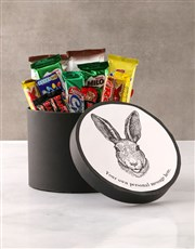 Personalised Easter Bunny Hat Box