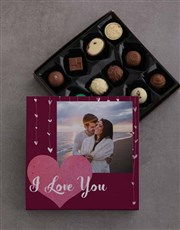 Show your love with a tray of 12 assorted Belgian
