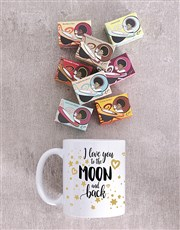 Express your love with this mug which is branded w