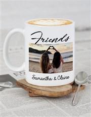Personalised Friendship Photo Mug