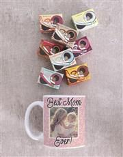Personalised Best Mom Ever Photo Mug