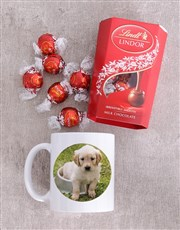 Personalised Puppy Photo Mug