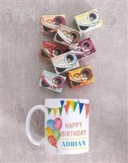 Personalised Birthday Mug Celebration