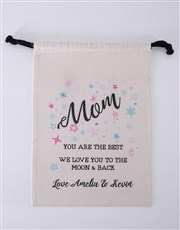 Mom Teddy Jersey matching drawstring bag