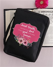 Personalised Give Thanks Bible Case