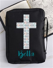 Personalised Blue Cross Bible Case
