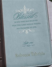 Personalised Blessed Bible Case