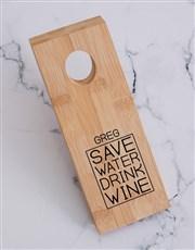 Drink Wine Bottle Holder