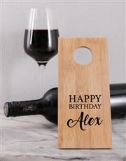 Birthday Wine Bottle Holder
