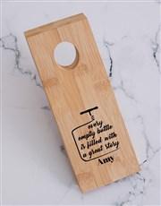 Story Wine Bottle Holder