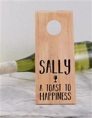Happiness Wine Bottle Holder