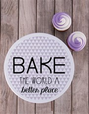 'Bake' the world a better place with a white cooki