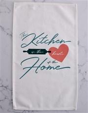 Heart of the home tea-towel