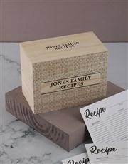 Classic recipe box