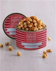 Personalised Anniversary Popcorn Tin