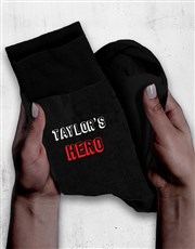 Personalised Hero Socks