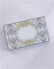 Personalised Vintage Mirror Trinket Box