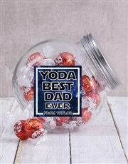 Personalised Yoda Best Candy Jar