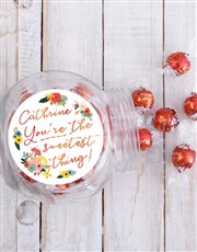 Personalised Sweetest Candy Jar