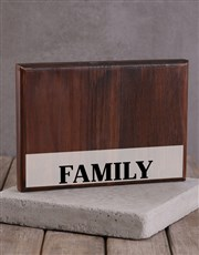 Personalised Family Printed Photo Frame
